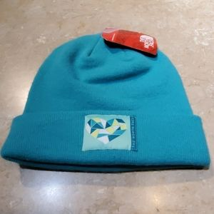 The North Face Turquoise Stocking Hat Beanie